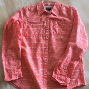 Top button front blouse